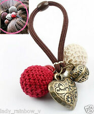 Beautiful Pattern Heart Love Yarn Ball Hair Accessory Headband Hairband Hairwear
