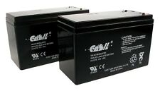 (2) CASIL 12V 7AH CA1270 Scooter Bike Battery Replaces 7Ah OD 6-DW-7 MK ES7-1