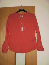 M & S Per Una Cotton Blend Blouse Size 16 BNWT