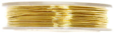 Craft Factory Jewellery Embellishment Brass Beading Wire 0.5mm x 5 Metres Gold
