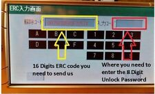 ERC Unlock Code Japanese Car Radio Toyota Nissan+Calculator Software