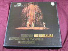 Wagner DIE WALKÜRE  -  Karl Böhm Philips 4 LP-Box near mint