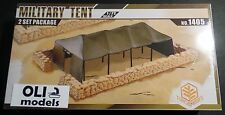 1/72 Military Tent w/Sandbag Walls - 2 Set package - TOXSO 1405