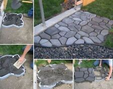 Quikrete Mold Stone Pavement Concrete DIY Building Materials Mould Paver Walkway