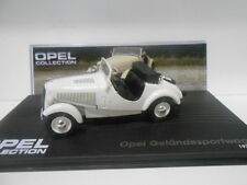 OPEL GELANDESPORTWAGEN 1934-38 OPEL COLLECTION #41 EAGLEMOSS IXO 1/43