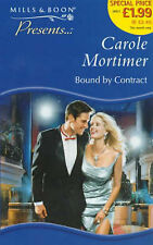 Bound by Contract (Presents), Carole Mortimer