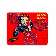 "Lenticular Betty Boop Red Motorcycle 7x8"" Sticker #BB-205-ST7X8#"