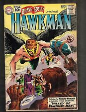Brave and the Bold #35 ~ Hawkman / 2nd Silverage App ~ 1961 (3.0) WH