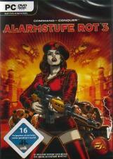 COMMAND AND CONQUER ALARMSTUFE ROT 3 * DEUTSCH Sehr Guter Zustand