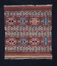 antique Orientteppich kurdisch Shasavan 110x100 rug mafrash nomad tribal tappeto
