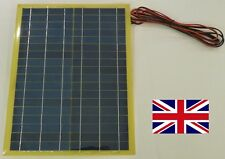 New 20w Very Light Weight  650g Solar Panel for Charge 12v Battery c/w 4m cable
