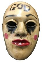 THE PURGE MOVIE ANARCHY 2 HORROR FANCY DRESS UP WRESTLING MASK ADULT COSPLAY