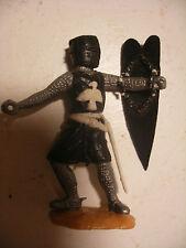Soldat ancien plastique Figurine TIMPO Chevaliers Medieval Moyen age 60mm