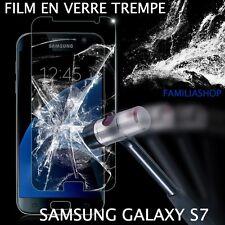 Film de Protection Écran en Verre Trempé Anti Chocs pour Samsung Galaxy S7