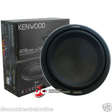"KENWOOD KFC-XW1200F 12"" SINGLE 4-OHM SHALLOW MOUNT CAR AUDIO SUBWOOFER 350W RMS"