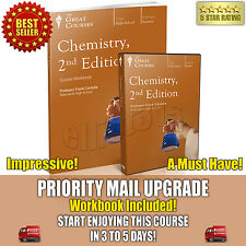Chemistry, 2nd Ed. DVD New Sealed + Workbook Teaching Co Great Courses