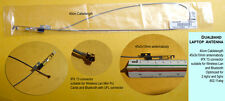 Wifi Wlan Dualband 2.4ghz 5ghz Mini Pci Antenna for laptop 40cm UFL Hirose