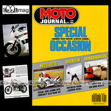 MOTO JOURNAL N°789 KAWASAKI GPZ 500, SIDE DNIEPR 16, PEUGEOT 50 COUNTRY 1987