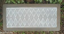 """Gostatue diamond bench top 3/16""""ths abs plastic concrete mould  bench mold"""