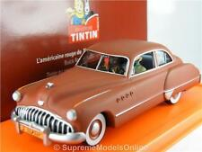 BUICK TINTIN DE L'OR NOIR CAR MODEL 1/43RD SIZE 2 DOOR COUPE VERSION R0154X{:}