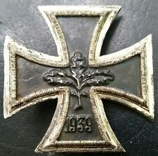 ✚7166✚ German Iron Cross First Class medal post WW2 1957 pattern MAGNETIC ST&L