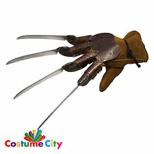 Deluxe Freddy Krueger Prop Glove Nightmare on Elm Street Fancy Dress Accessory