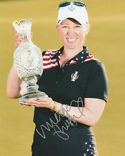 MORGAN PRESSEL SIGNED AUTO'D 8X10 PHOTO POSTER LPGA TOUR SOLHEIM CUP