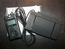 Tascam DR-40 Recorder w/RC3-F Footswitch
