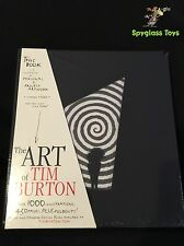 The Art Of Tim Burton New Sealed Standard Edition Book Limited Release