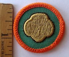 Girl Scout Junior 1997-2001 COOKIE CONNECTION BADGE Sale Booth Trefoil Patch
