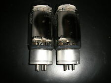 NOS pair GM70 tubes from 1973 same date / RCA 845