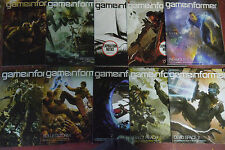 Lot of 10 GAMEINFORMER video game gamer Magazine 2010 Multiple Issues English