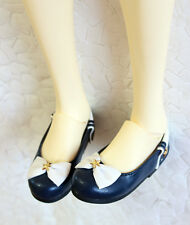 1/3 bjd girl doll navy flat shoes SD13/16 EID SID dollfie dream luts ship US