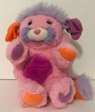 1986 TCFC Popples Rare French Pink Edition Plush Popple 8""