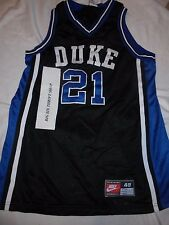 DUKE BLUE DEVILS #21 NIKE COLLEGE NCAA BASKETBALL JERSEY SIZE 48 XL SEWN