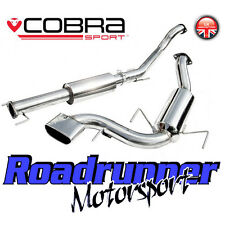 "VZ08g Cobra Astra VXR MK5 3"" Exhaust System Stainless Cat Back Resonated (05-11)"