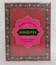 Kama Sutra The Weekender Kit Strawberry Dream 3 Oils Feather Dust Balm Sexy Gift
