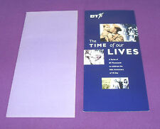 Vintage 1995 Rare Collectors BT Phonecard Folder VE Day 50th Anniversary