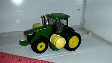 1/64 ERTL farm toy custom JOHN DEERE 7215r Tractor with 2 300 gal saddle tanks