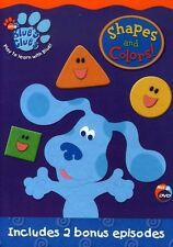 Blue's Clues: Shapes and Colors (2003, REGION 1 DVD New)