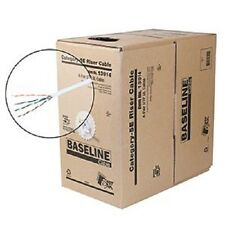 NEW Steren 13914 Baseline Series 350MHz CAT5e Cable - White