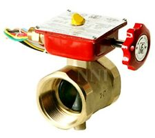 """1-1/2"""" BRONZE BUTTERFLY VALVE THREADED WITH TAMPER SWITCH, Fire Protection"""