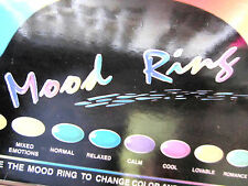 Mood Ring Your Choice  State Your Size