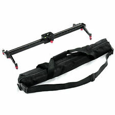 "New 24""/60cm Video Stabilization System DSLR Camera Compact Track Dolly Slider"