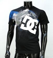 Dc shoes Team Usa skateboard Drips Circle Logo Classic mens Black t shirt Small