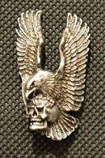 Skull Eagle Schädel Adler Anstecknadel pin pins