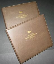 U.S. STATE DUCK STAMP COLLECTION in 2 albums, all NH, Scott $928.00