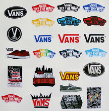 24pcs Vinyl Stickers Vans for Snowboard Luggage Car Laptop Bike Phone Helmet