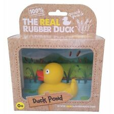 Bath Duck - Real Rubber Duck Bath Toy - Yellow Color - Baby Shower Gift