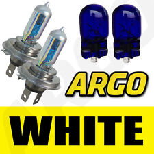 H4 XENON WHITE HEADLIGHT BULBS SUBARU IMPREZA WRX